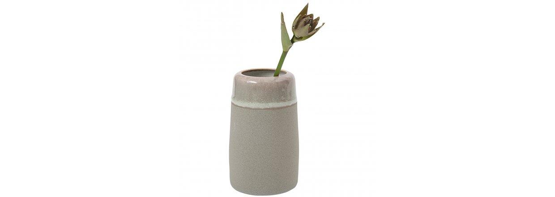 Nyhed - hånddrejede vaser i stentøj fra hejdesign