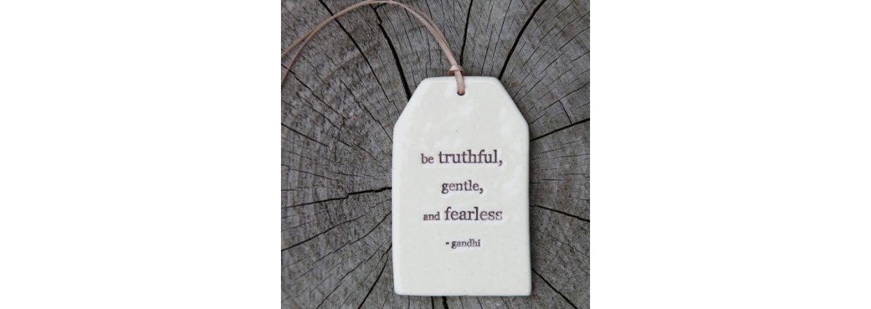 Nye keramik quote tags fra Paper Boat Press