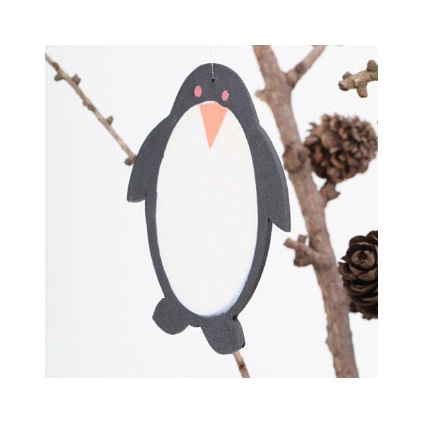 Helle Gram - Keramik pingvin til ophæng