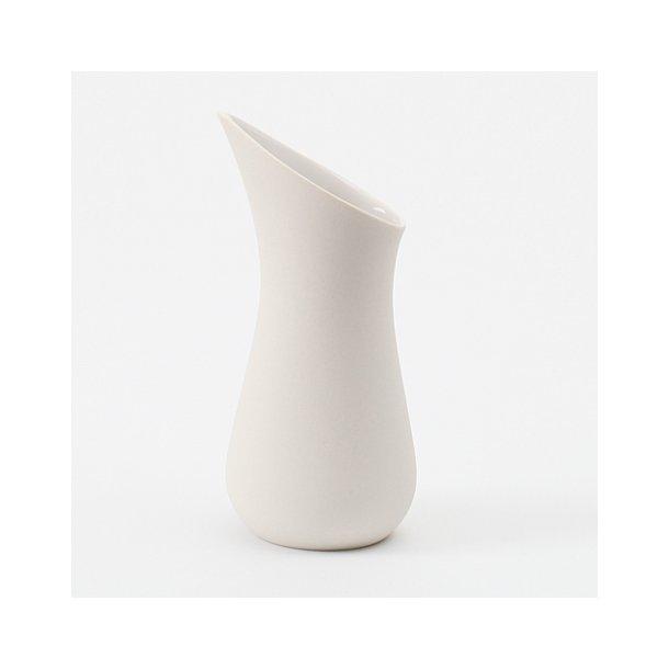 Ditte Fischer - Keramik håndlavet mælkekande, hvid