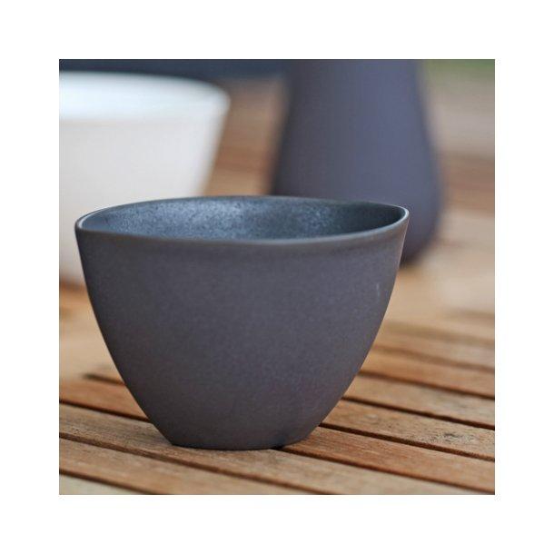 Ditte Fischer - Keramik håndlavet kop / skål, sort stor