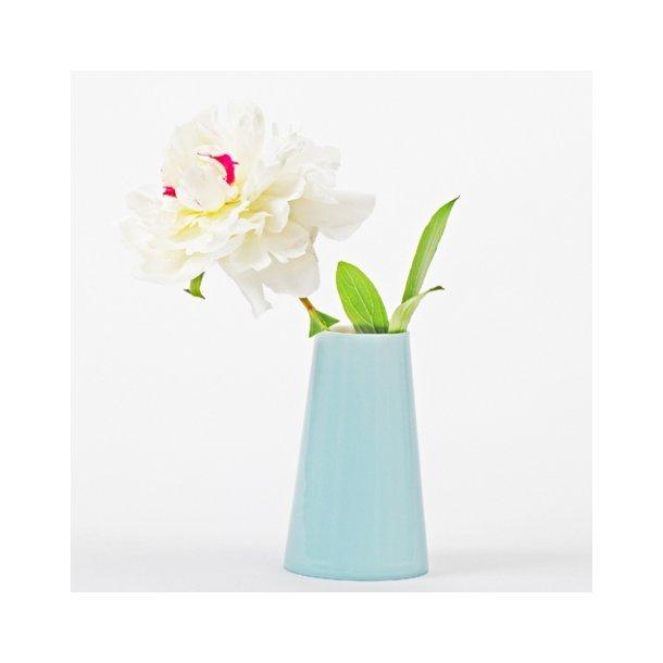 ESTHER ELISABETH PEDERSEN - Håndlavet stor vase, lyseblå