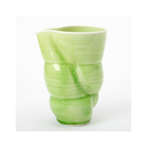 Laila Stenderup - Keramik kande, grøn