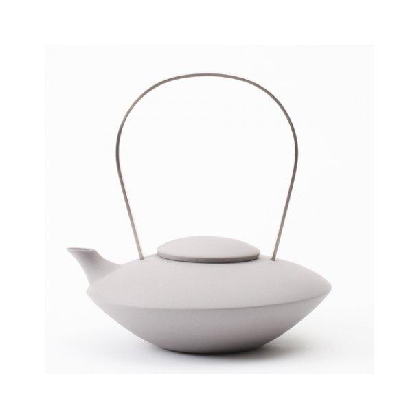 Ditte Fischer - Keramik håndlavet tekande grå