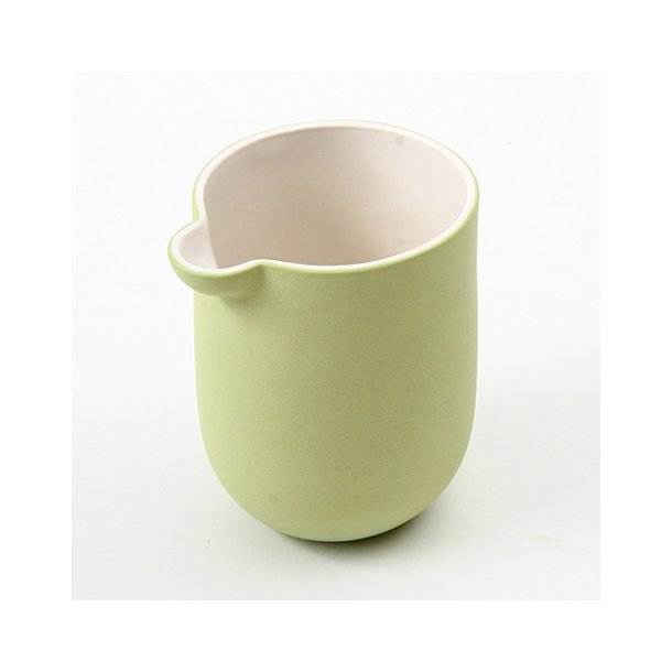 Helle Gram - Keramik mælkekande chubby, lysegrøn