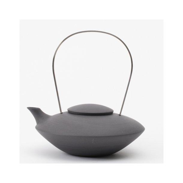 Ditte Fischer - Keramik håndlavet tekande sort