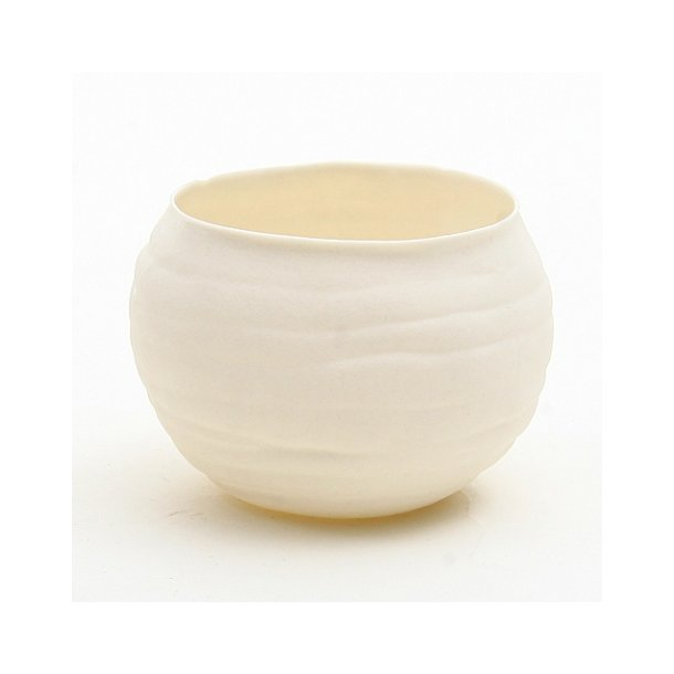 Helle Gram - Keramik håndlavet kuglefyrfad, lille