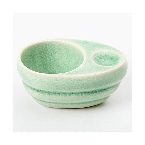 Hanne Bertelsen - Keramik håndlavet æggebæger, grøn