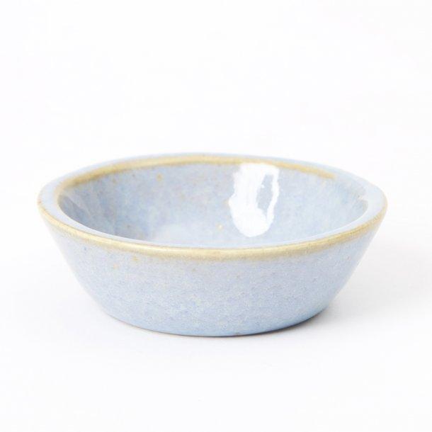 Oh Oak - Keramik hånddrejet mini skål, blue Nexø