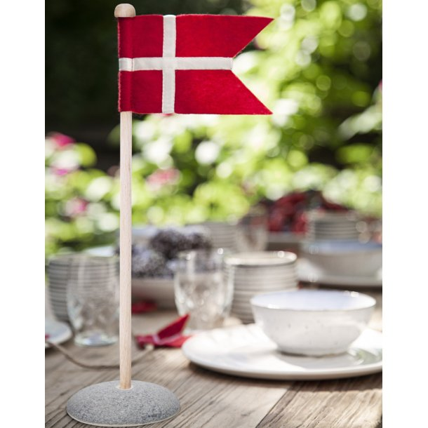 unika:k keramik - Handmade table flag in ceramic and fabric