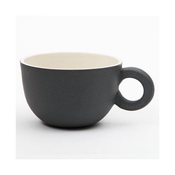Helle Gram - Keramik chubby kop, Chubby tekop, sort
