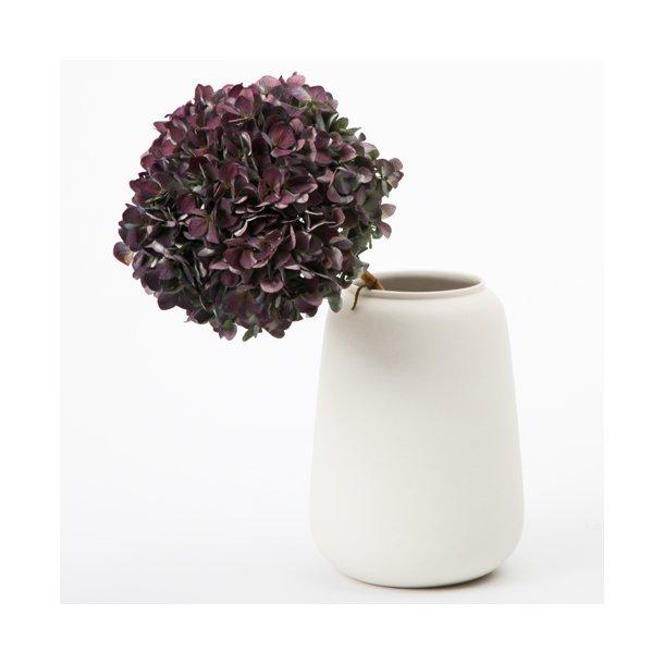 Ditte Fischer - Keramik håndlavet vase stor, hvid