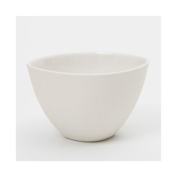 Ditte Fischer - Keramik håndlavet kop / skål, hvid stor