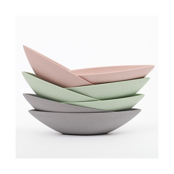 Ditte Fischer - Keramik håndlavet saltkar / micro bådskål, rosa