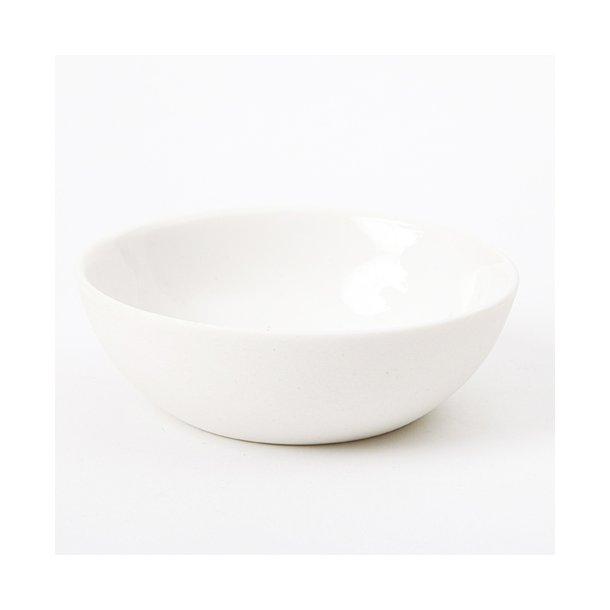 Ditte Fischer - Keramik håndlavet skål tapas lille, hvid