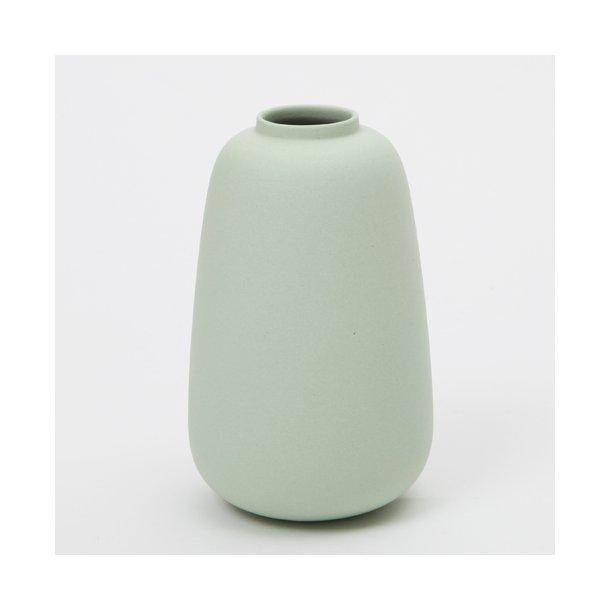 Ditte Fischer - Keramik håndlavet vase, micro, mint