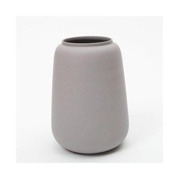 Ditte Fischer Ceramic Handmade Vase Large Grey Vases Unika K