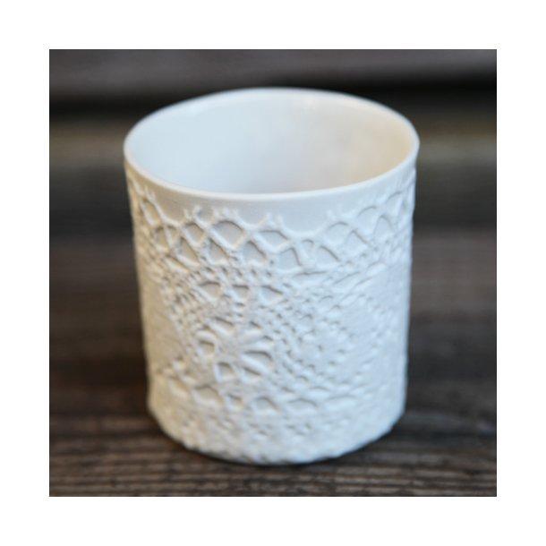 Jeanette Hiiri - Keramik håndlavet fyrfadsstage, blonde