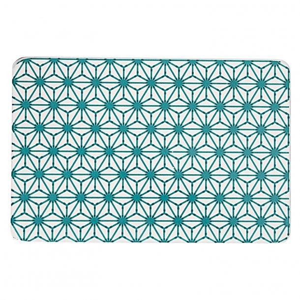Made a Mano - Håndlavet lavastone board, grøn