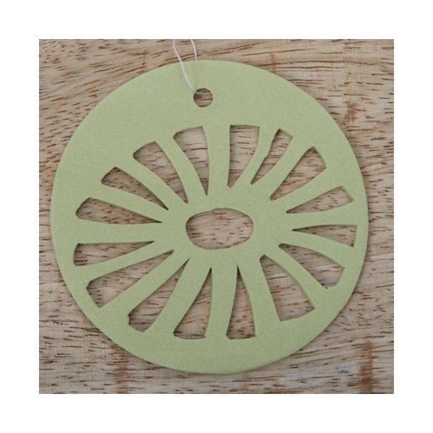 Helle Gram - Keramik ophæng 'daisy' i grøn