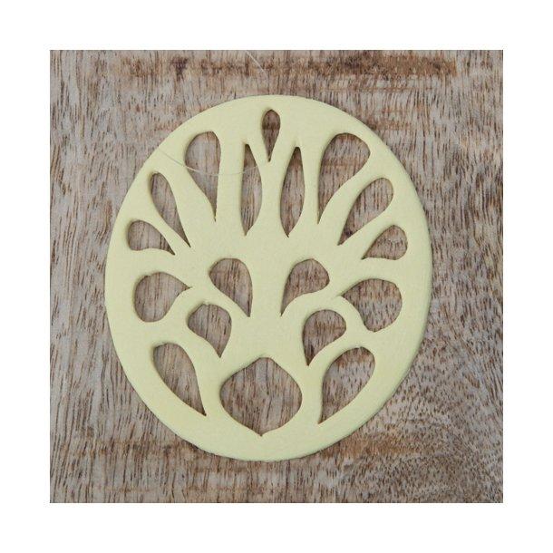 Helle Gram - Keramik ophæng 'spring' i gul