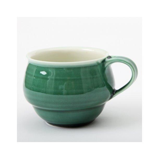 Henriette Duckert - Keramik håndlavet kop mørkegrøn