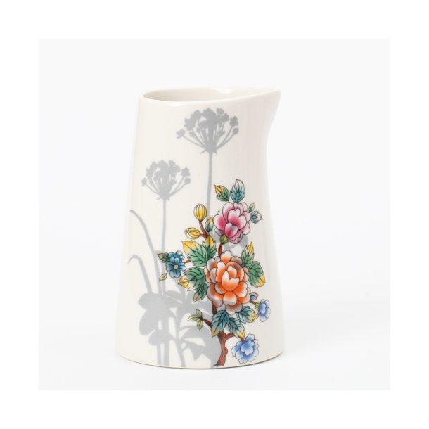 Jeanette Hiiri - Keramik håndlavet mælkekande, Flora nr 10, glaseret (limited edition, unika)