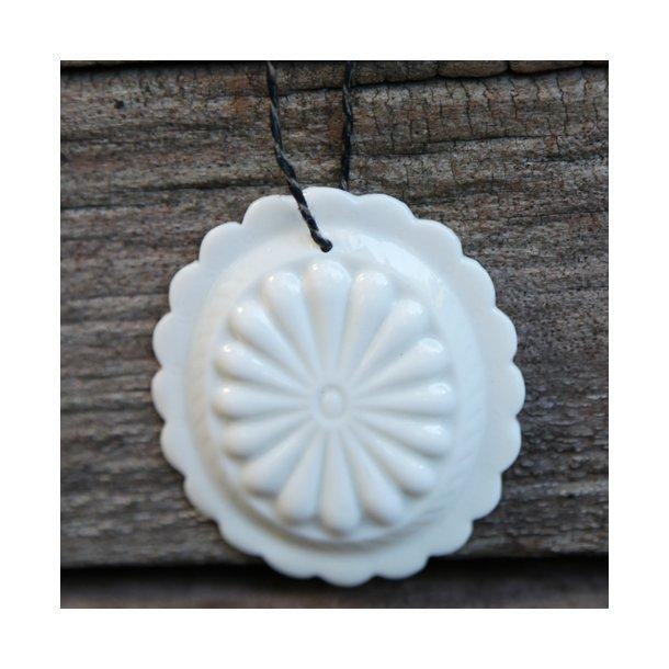 Jeanette Hiiri - Keramik håndlavet Medaljon til ophæng