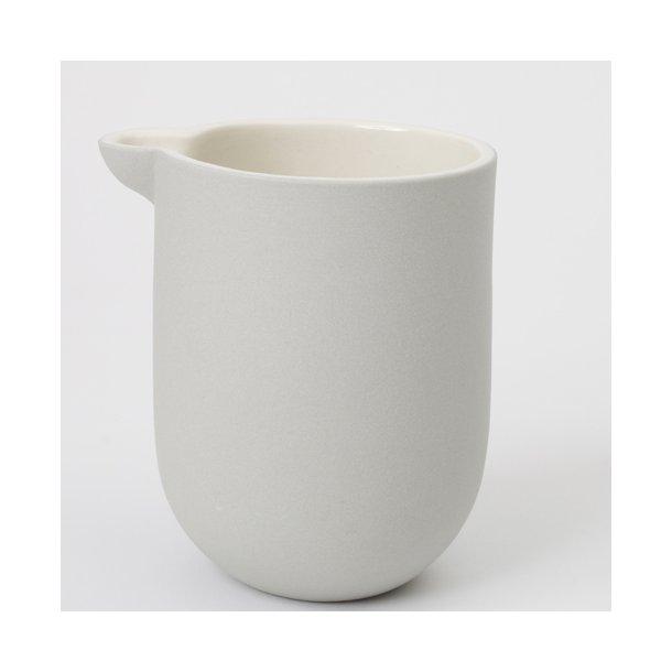 Helle Gram - Keramik håndlavet mælkekande, chubby, grå