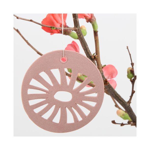 Helle Gram - Keramik ophæng 'daisy' i kanel