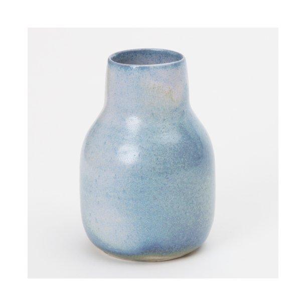 Oh Oak - Keramik håndlavet vase, medium vase, baltic blue