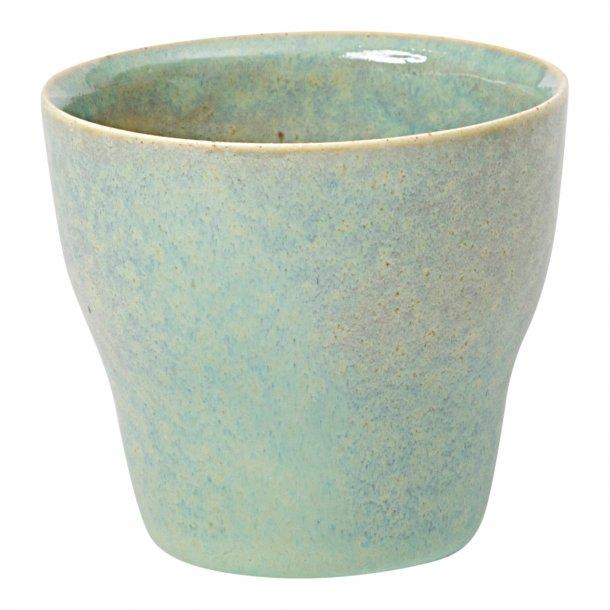 Oh Oak - Keramik håndlavet kop, Nexø espresso, grøn