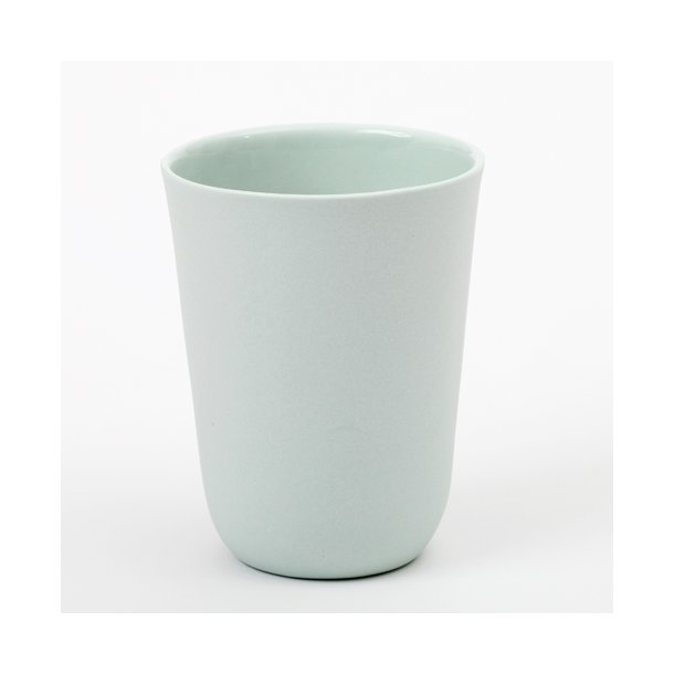 Line Rønnest - Keramik håndlavet kop, kaffekop, mint (mellem)