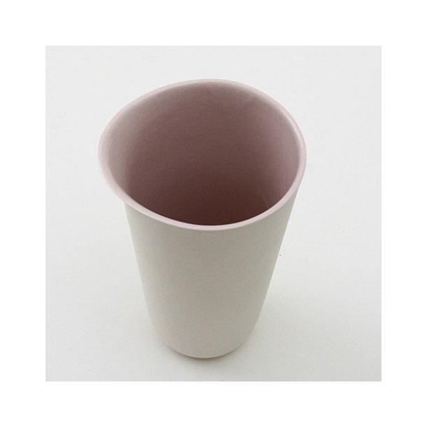 Line Rønnest - Hvid og lys lavendel mælkekande