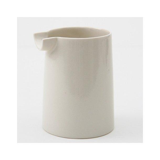 Lars Rank - Keramik Dots, hvid mælkekande