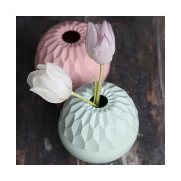 Feinedinge - Keramik håndlavet vase Dschinni, mint