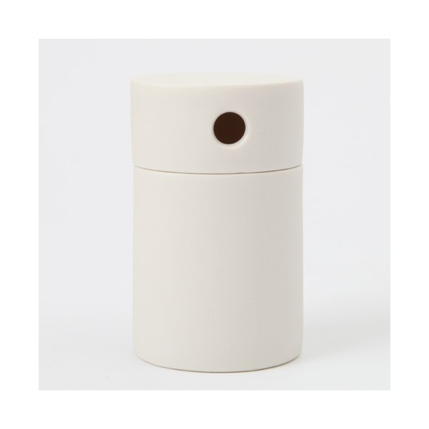 Alexandra Nilasdotter - Keramik håndlavet moonbox, hvid