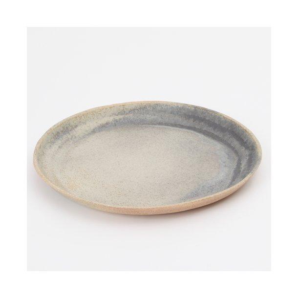 Oh Oak - Keramik hånddrejet tallerken Large Plate, granit
