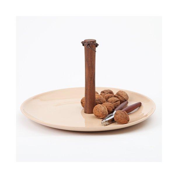 Feinedinge - Keramik håndlavet serveringsfad, tapas plate, rosé
