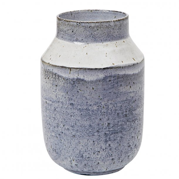 Tasja P. ceramics - Keramik håndlavet vase, unika glasur