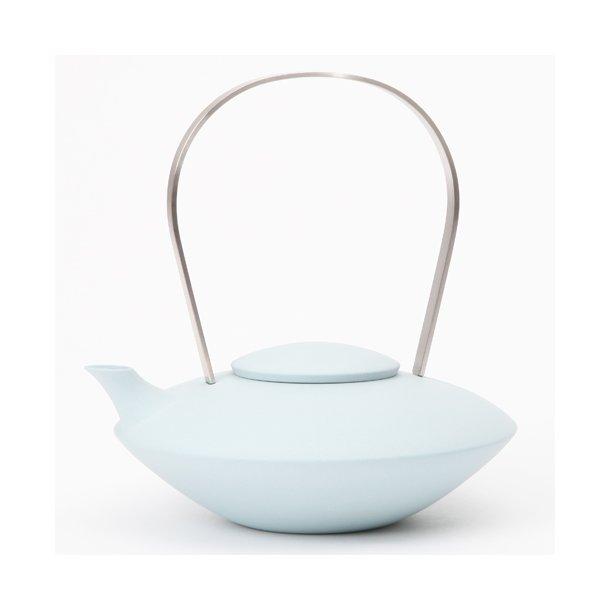 Ditte Fischer - Keramik håndlavet tekande blå