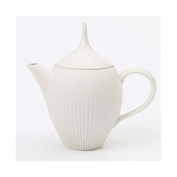 Feinedinge - Keramik tekande Alice, lille, cremehvid