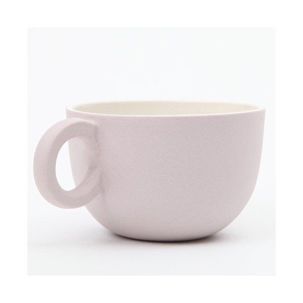 Helle Gram - Keramik chubby kop, Chubby tekop, lavendel
