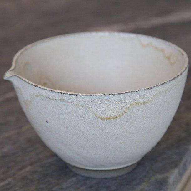 Tina Marie Cph Handmade - Keramik hånddrejet skål Timbre, pearl