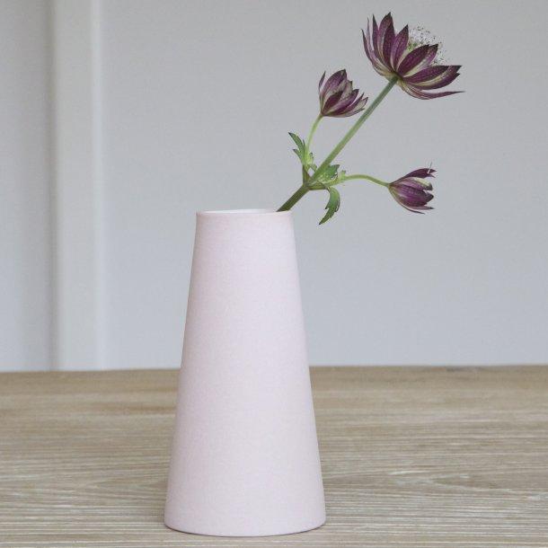Esther Elisabeth Pedersen - Keramik håndlavet forårsvase, lyserød