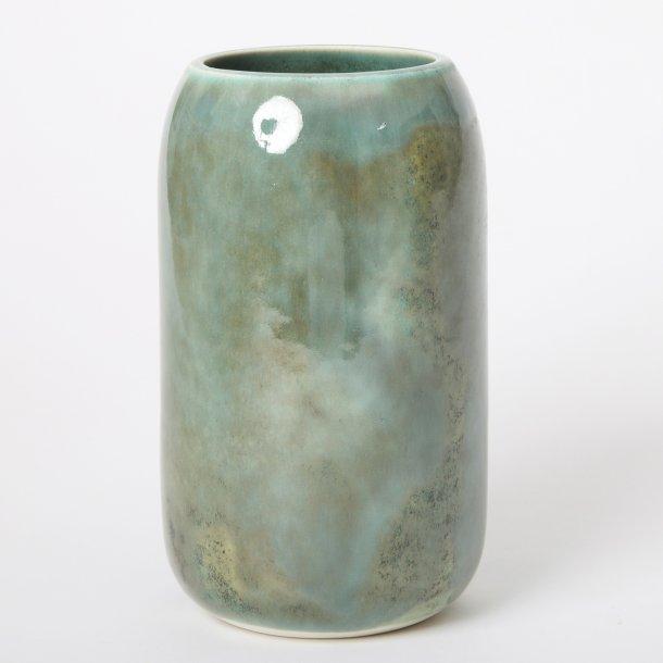Oh Oak - Keramik håndlavet vase, Nordland vase stor, grønne nuancer