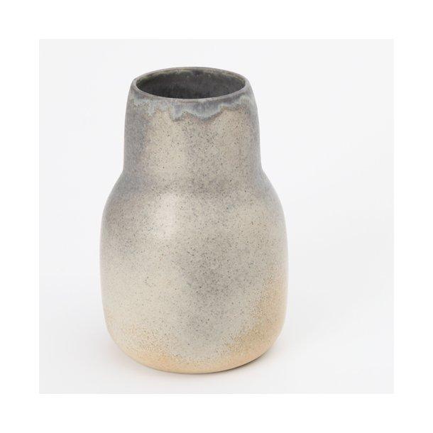 Oh Oak - Keramik håndlavet vase, medium vase, granit